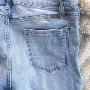 Women's ripped jeans like new size 28